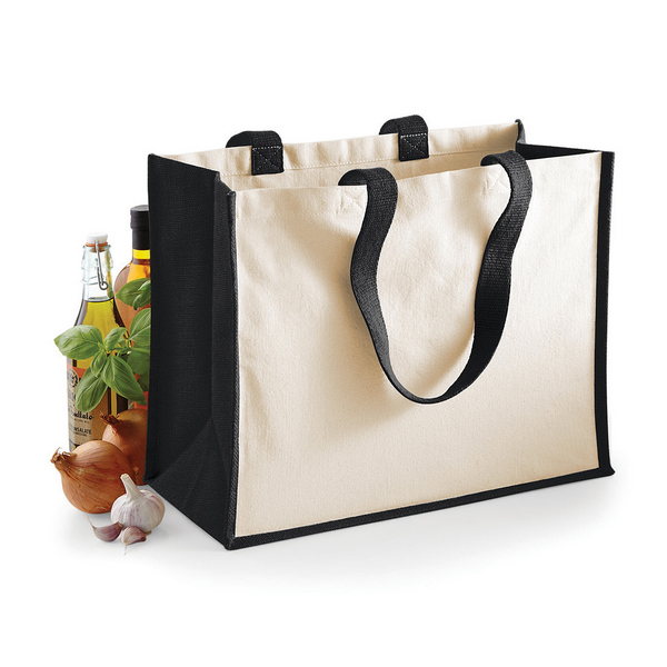 Sac shopping cabas naturel personnalisé (Westford Mill)